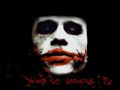 The Joker Heath Ledger Why So Serious - WeSharePics