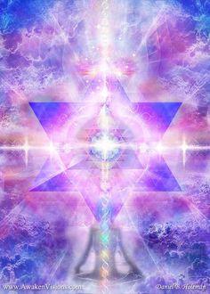 Visionary Art Gallery by Daniel B. Chakra Art, Ascended Masters, Spirited Art, Universe Art, Chakra Meditation, Visionary Art, Sacred Art, Spiritual Inspiration, Sacred Geometry