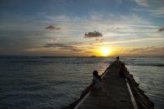 A peaceful evening in Waikiki. #jadennyberg #sunset #Hawaii