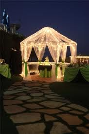 I want to be married in a lighted Gazebo