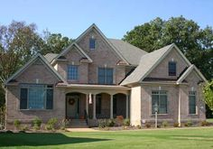 Candace - Home Plans and House Plans by Frank Betz Associates