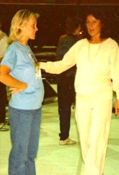ABBA started their preparations and rehearsals for the forthcoming world tour in May 1979