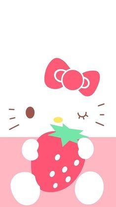 Kawaii Phone Wallpapers on WallpaperPlay Hello Kitty Themes, Hello Kitty My Melody, Pink Hello Kitty, Hello Kitty Pictures, Hello Kitty Birthday, Sanrio Hello Kitty, Kitty Cam, Cute Iphone 6 Wallpaper, Hello Kitty Iphone Wallpaper