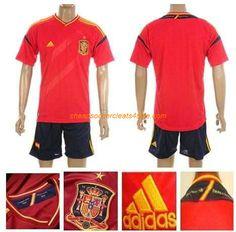 cheap adidas Spain National team 2012-2013 soccer jerseys home red