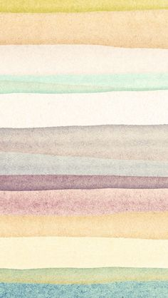 iPhone 5 wallpaper - watercolor stripes #pattern: