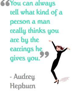 Who knew?!  Audrey Knew!