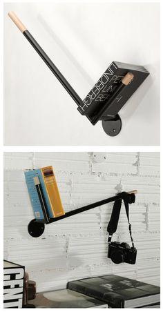 Minimalist Check Bookshelf
