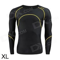 Santic MN120257 Quick Dry Elasticity Cycling Thermal Underwear - Black (Size XL) Price: $26.70