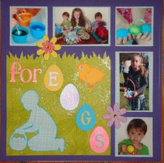 easter scrapbook layouts | Easter Scrapbook Layout