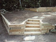 Great Landscaping Timber Ideas Landscaping Timbers Retaining Wall Ideas Landscaping Gardening - The question emerges however, precisely what sort of yard l Backyard Projects, Outdoor Projects, Backyard Patio, Backyard Landscaping, Landscaping Ideas, Backyard Storage, Landscaping Software, Diy Projects, Landscaping Retaining Walls