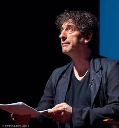 Ewasko image from Live Talks LA Neil Gaiman with Geoff Boucher. Neil Gaiman, Entertainment Weekly, Live, Image, Style, Swag, Outfits
