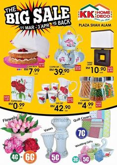 31Oct 2014 31 Jan 2015 KK Home Deco Year End Sale Malaysia