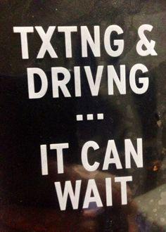 Txting & driving