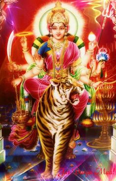 I bow again and again to the Goddess, who dwells in all creatures in the name of Maya of Vishnu.