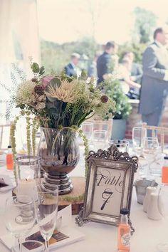 Wedding Table centre piece.