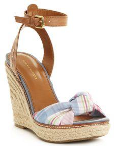Tommy Hilfiger Shoes, Veronica Espadrille Wedges