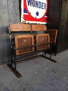 chaise industrielle 5francs