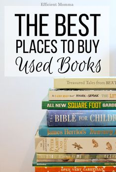 The Best Places to Buy Used Books Books cheap books Sell Used Books Online, College Books Online, Cheap Books Online, Buy Used Books, I Can Read Books, Buying Books Online, Free Books Online, Good Books, Sell Books