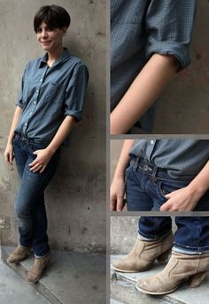 Androgyne Mode - Androgyner Style - Jeans Mode - Streetstyle Paris