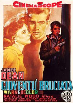 ''rebel'' - Foreign poster, by Italian artist Luigi Martinati.