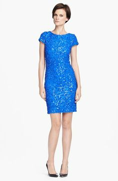 Everything I've always wanted, for the low low price of $495!! Alice + Olivia 'Taryn' Sequin Dress available at #Nordstrom