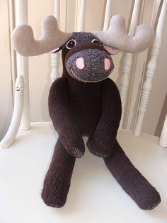My little sock moose!