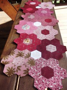 The Vignette Hexagon Quilt: May 2011