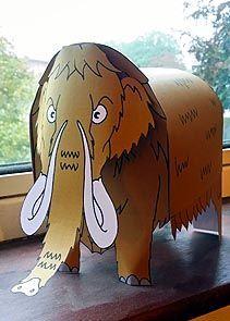 Make a Mammoth Activity Sheet - © Nash Ford Publishing