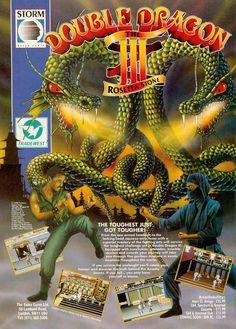 Double Dragon III: The Rosetta Stone (1991)