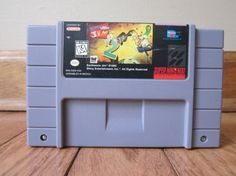 Earthworm Jim 2 Super Nintendo Game Cartrige by catgirls on Etsy