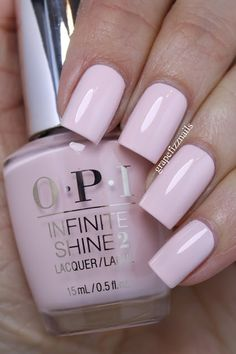 It's Pink P.M. from the new OPI Infinite Shine Spring 2016 Collection on grape fizz nails blog