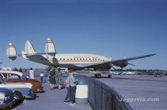 [c/n Lockheed Constellation [American Flyers Airline] Aircraft Propeller, Psychedelic Music, Passenger Aircraft, Vintage Airplanes, Commercial Aircraft, Civil Aviation, Pontiac Firebird, Air Travel, Airports