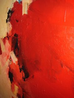 Vasco Torres, Red Abstraction on ArtStack #vasco-torres #art