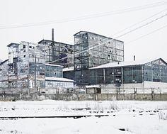 Sodium Factory (Ocna-Mures, Central Romania), 2012 Factoría de tratamiento de sodio de la época comunista en la zona central de Rumanía (© Tamas Dezso)