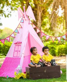 Kids Camping Tent, Kids Teepee Tent, Teepees, Play Tents, Tent House For Kids, Girls Tent, Childrens Tent, Indoor Tents, Teepee Party