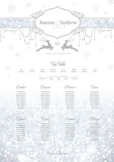 7-must-see-table-plan-ideas-to-match-2014s-top-wedding-themes-7.-Reindeer_tableplan