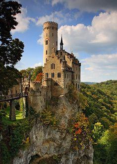 Lichtenstein Castle ~ Photo by Uwe Müller