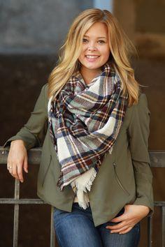 Woodland Blend Pattern Blanket Scarf ~ Funky Monkey ~ blanket scarf – Funky Monkey Fashion Accessories