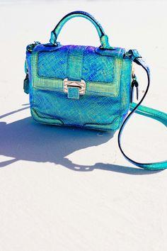 Pretty blue rebecca minkoff handbag