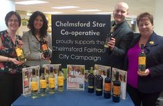 Great to partner with another Co-operative Society - Chelmsford Star Co-operative.