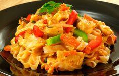 Chicken Macaroni Cake - Lekha Foods - World Recipes Vegetable Pasta, Chicken And Vegetables, World Recipes, Eating Well, Pasta Salad, Macaroni, Kai, Chicken Recipes, Lunch