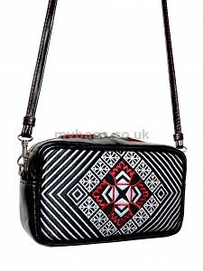 GOSHICO embroidered leather cross body/hand-held bag http://mybags.co.uk/goshico-embroidered-leather-cross-body-hand-held-bag-277.html