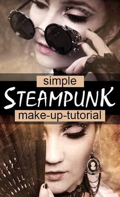 Simple-Steampunk-Makeup-Tutorial-[VIDEO]-Journey-Through-Style More