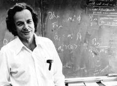 El aclamado físico Richard Feynman.
