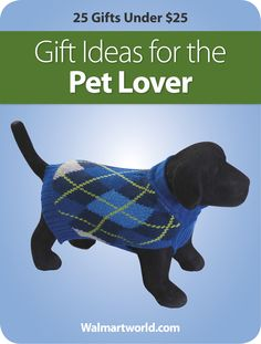 Devoted pet owner on your holiday gift list? Walmart takes the guesswork out of finding the best Christmas present.