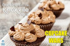 March 13, 2014: The Dancing with the Knoxville Stars 2nd Annual Cupcake War is today from 11 am - 1 pm at The Cupcakery of Knoxville. Stop by and try up to 8 unique cupcake creations from our Knoxville celebrity dancers as they raise money for East Tennessee Children's Hospital. http://www.etch.com/events/dancing_with_the_knoxville_stars.aspx