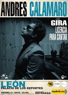 Concierto de Andrés Calamaro en León
