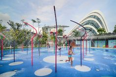 Waterplay, Far East Organization Children's Garden, Singapore's Gardens by the Bay designed by Grant Associates