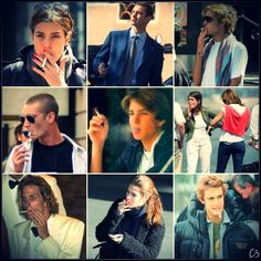 Casiraghi Alphabet: S is for Smoking The Casiraghi's enjoy lighting one up