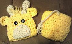 GIRAFFE SET hat baby newborn diaper cover set Photo Studio Prop Photography jungle 0-3 3-6 6-12 12-24 on Etsy, $23.99